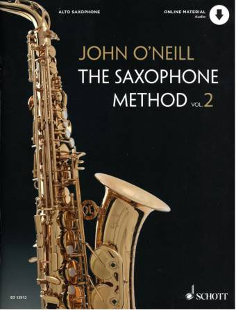 JOHN O'NEILL: The Saxophone Method, Vol 2
