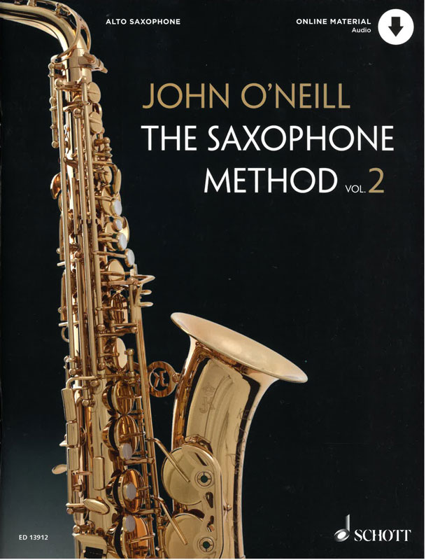 JOHN O'NEILL: The Saxophone Method, Vol 2