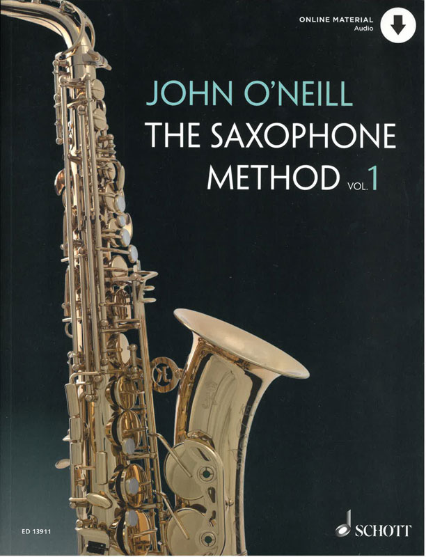 JOHN O'NEILL: The Saxophone Method, Vol 1