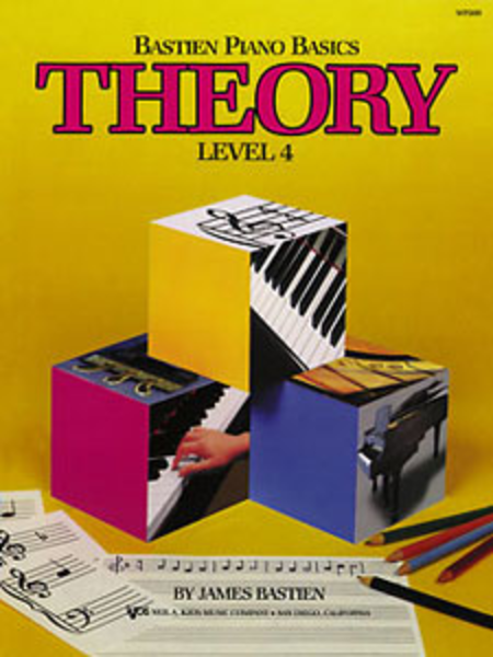 Bastien Piano Basics: Theory, Level 4