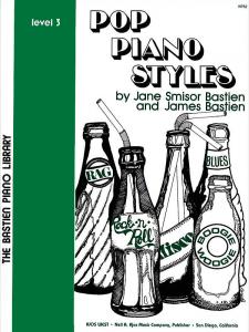 BASTIEN: Pop Piano Styles, Level 3