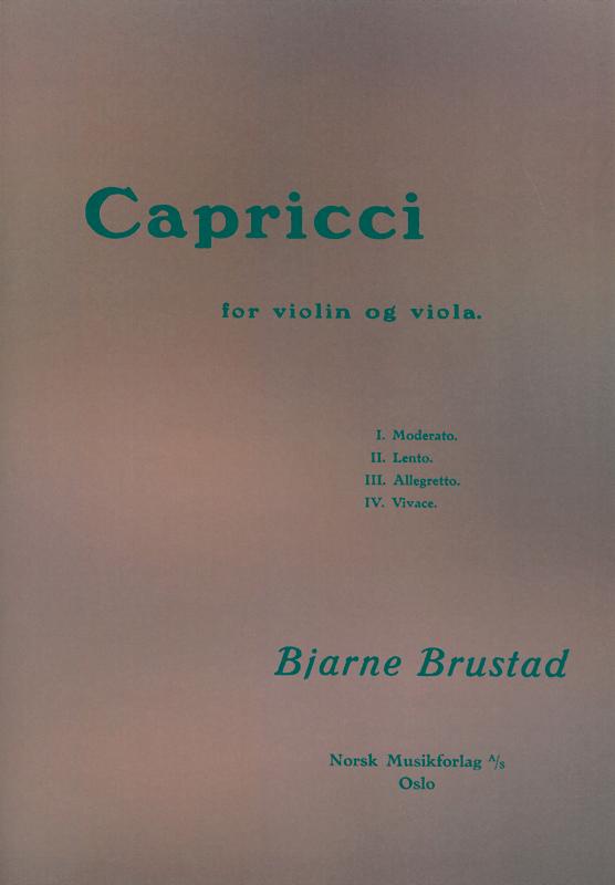 BJARNE BRUSTAD: Capricci