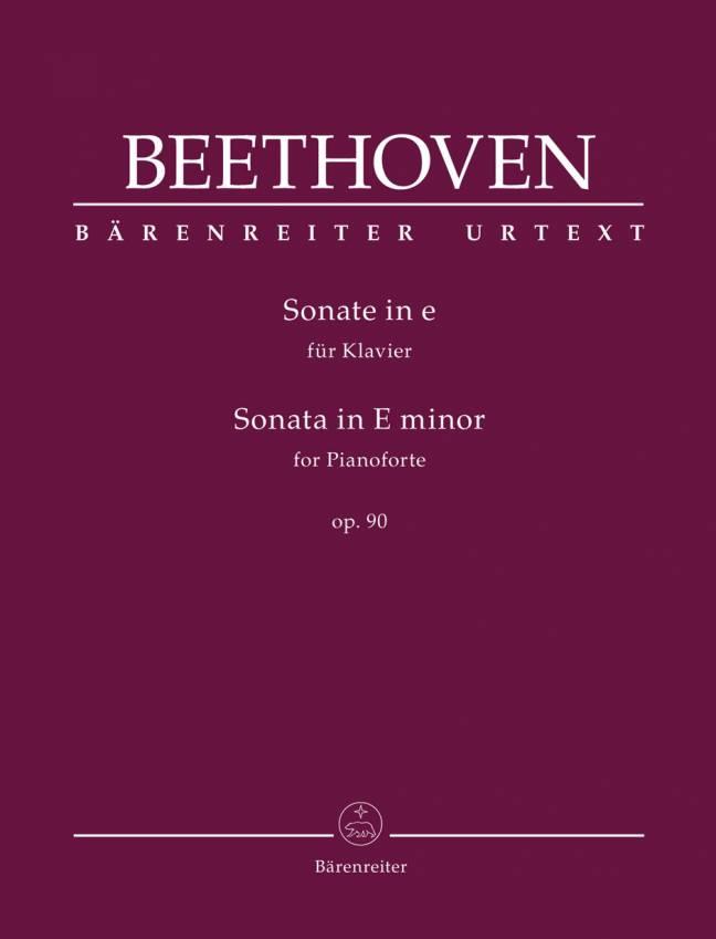 BEETHOVEN: Sonate i E, op. 90