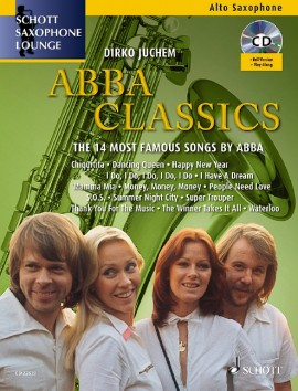 ABBA Classics for Alto Saxophone and Piano