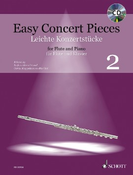 Easy Concert Pieces for Flute and Piano 2