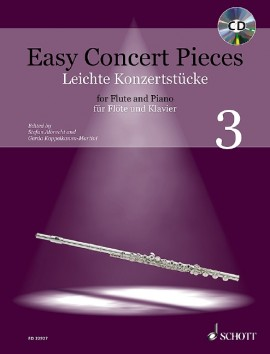Easy Concert Pieces for Flute and Piano 3