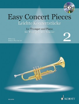 Easy Concert Pieces for Trumpet and Piano 2