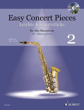 Easy Concert Pieces for Alto Saxophone and Piano 2