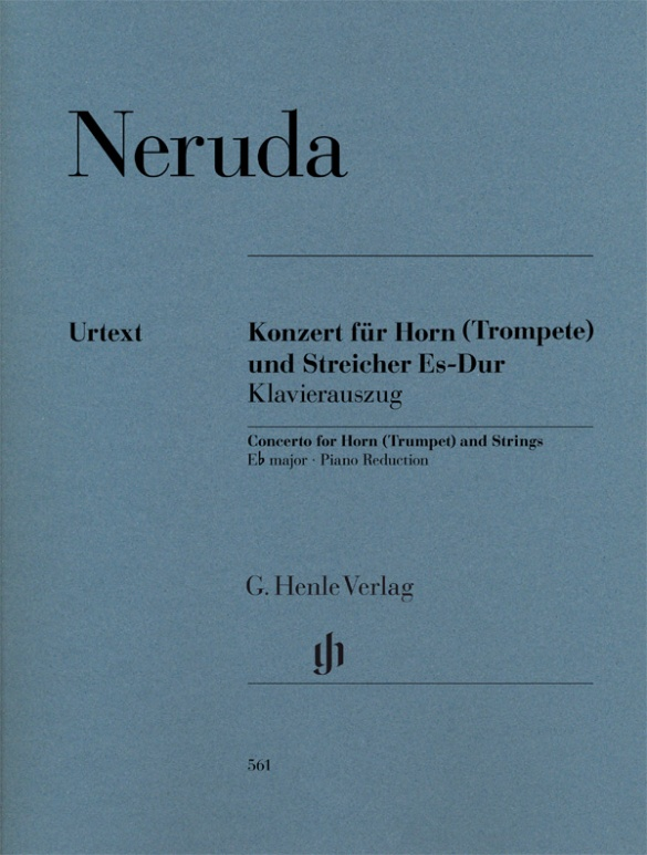 NERUDA: Concerto for Horn (Trumpet) and Strings