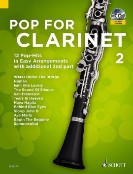 Pop For Clarinet 2