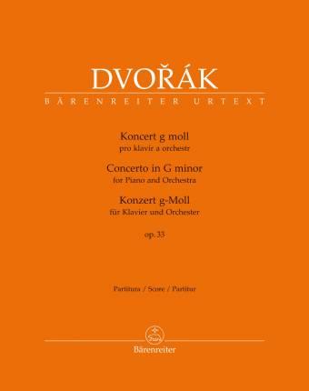 DVORÁK: Konsert i G-moll, op. 33