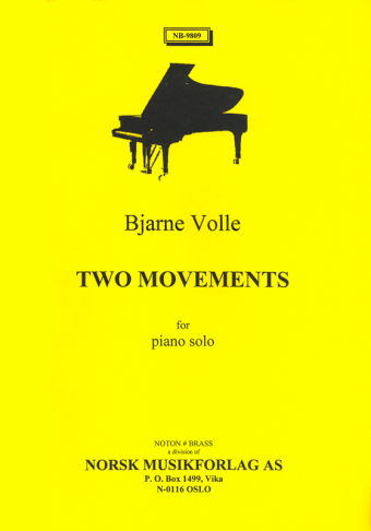 BJARNE VOLLE: Two Movements