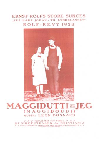 Maggidutti og jeg