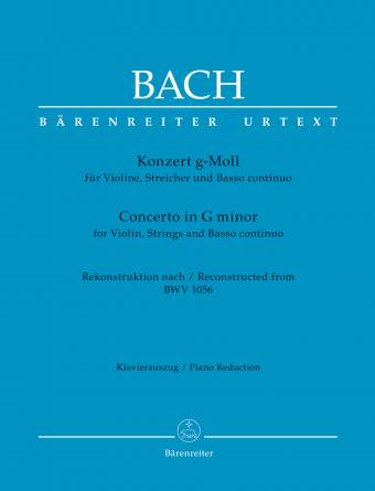 Bach: Concerto for Violin, Strings and Basso Continuo G minor