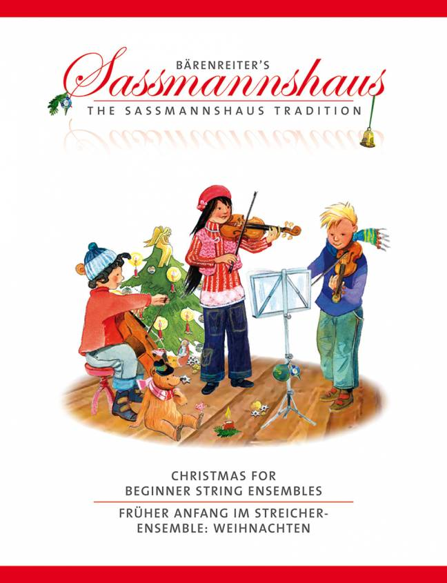 Sassmannshaus: Christmas for Beginner String Ensembles