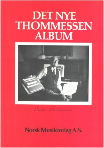 REIDAR THOMMESSEN: Det nye Thommessen album