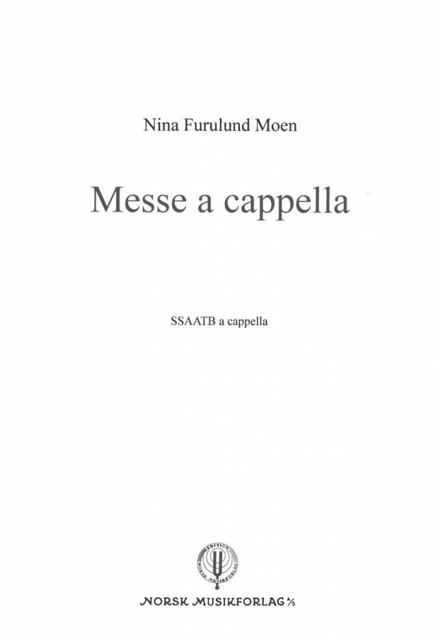 Messe a cappella