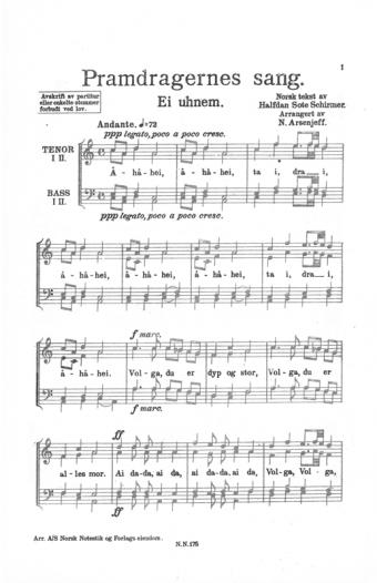 Pramdragernes sang