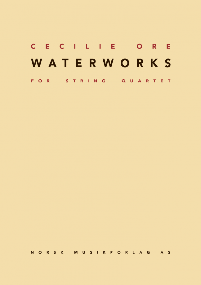 CECILIE ORE: WaterWorks