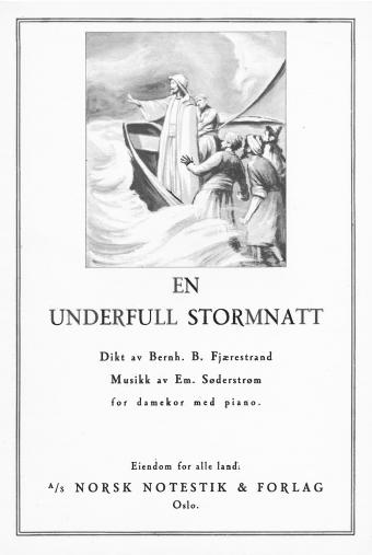 Em. Søderstrøm: En underfull stormnatt