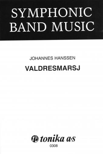 JOHANNES HANSSEN: Valdresmarsj (Janitsjarkorps)