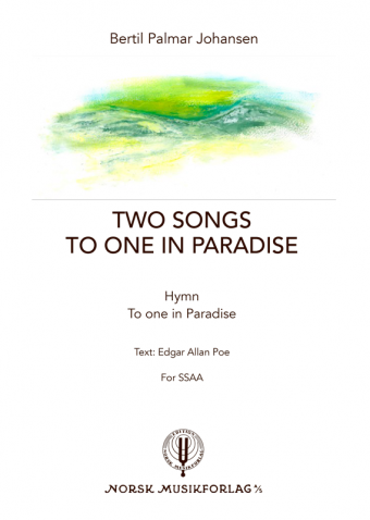 BERTIL PALMAR JOHANSEN: Two songs to one in Paradise