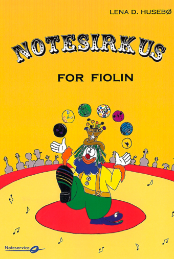 Notesirkus for fiolin