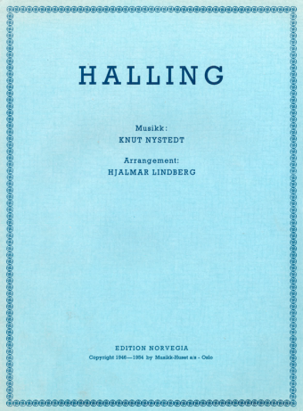 KNUT NYSTEDT: Halling