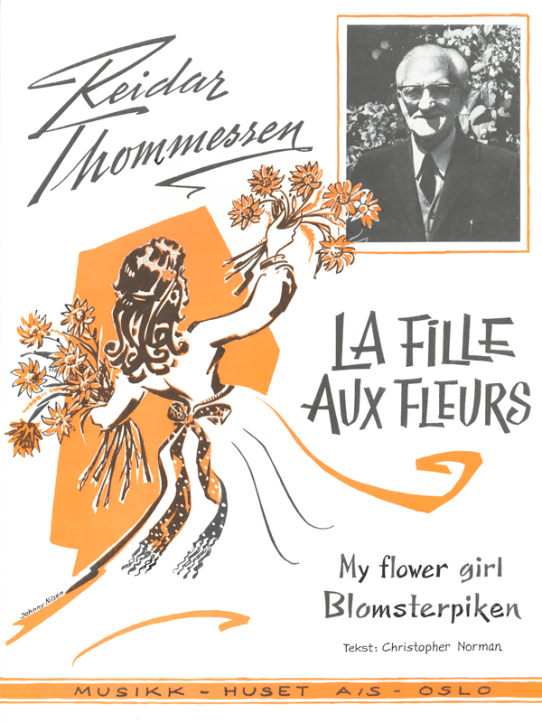 REIDAR THOMMESSEN: La Fille Aux Fleurs