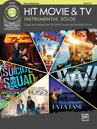 Hit Movie & TV – Instrumental Solos for Tenor Saxophone