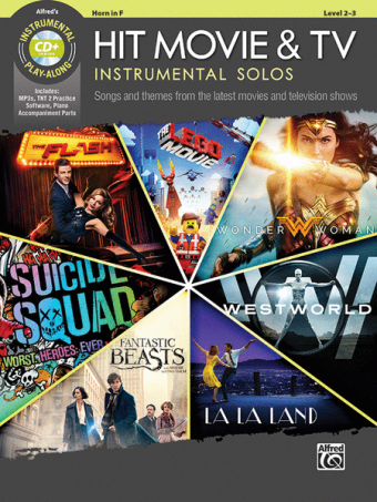 Hit Movie & TV – Instrumental Solos for Horn in F