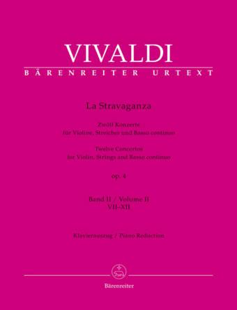 VIVALDI: La Stravaganza op. 4, Bind 2