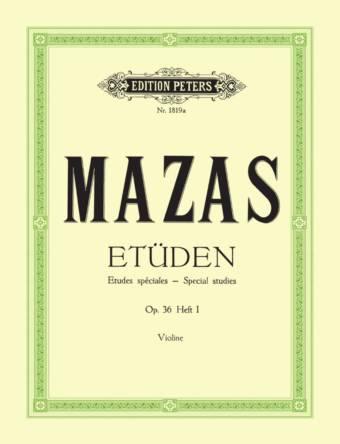MAZAS: Etüden, Op. 36