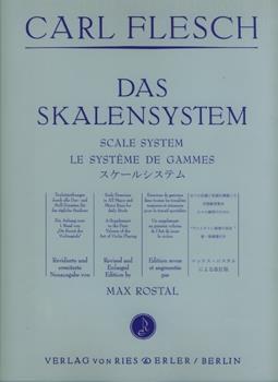 CARL FLESCH: Skalasystemet