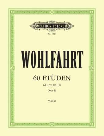 WOHLFAHRT: 60 Etüden, Op. 45