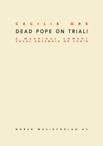 CECILIE ORE: Dead Pope on Trial (The Vatican Trilogy Part 1)