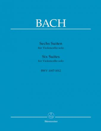 BACH: Sechs Suiten for Violoncello solo