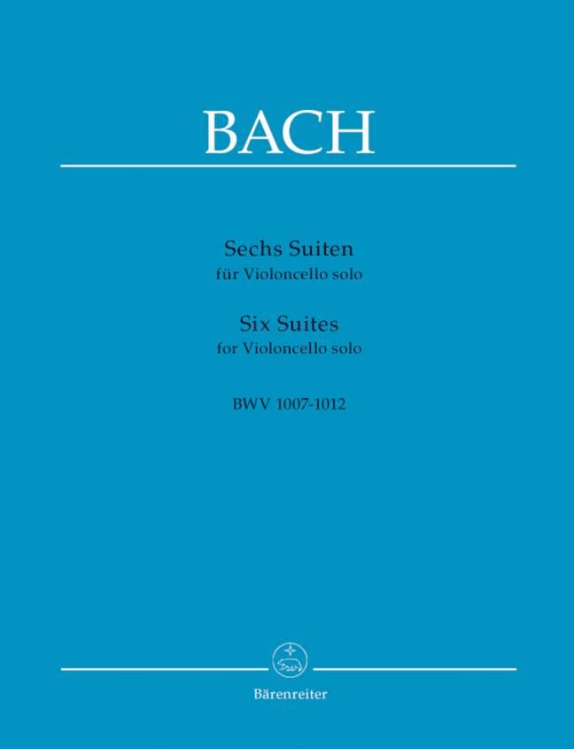 BACH: Sechs Suiten for Violoncello solo