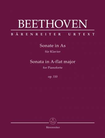 BEETHOVEN: Sonate i Ass-dur, op. 110