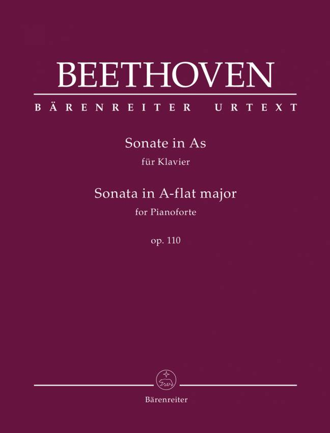 BEETHOVEN: Sonate in A-flat major, op. 110