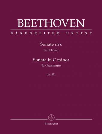BEETHOVEN: Sonate i C-moll, op. 111