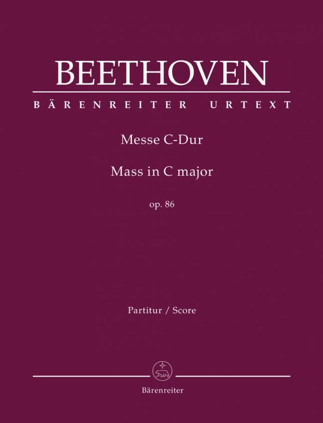 BEETHOVEN: Messe i C-dur, Op. 86