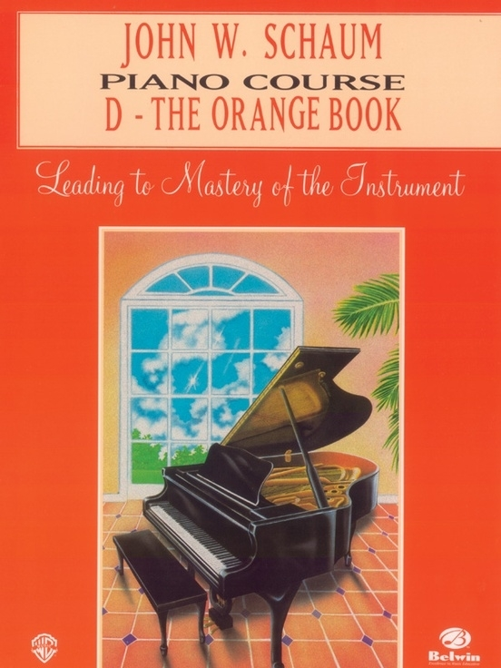 Schaum: Piano Course D - The Orange Book