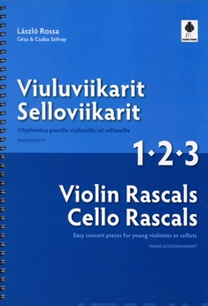 Violin/Cello Rascals 1-2-3