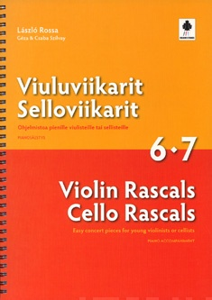 Violin/Cello Rascals 6-7 (Pianoakkompagnement)