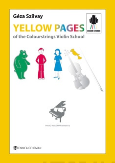Yellow Pages of the Colourstrings Violin School, Piano Accompaniments — Violin & piano
