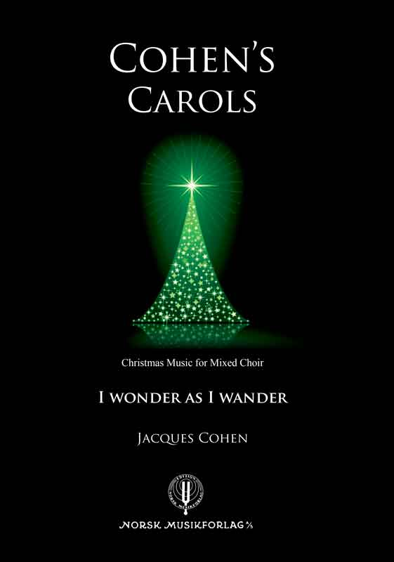 JACQUES COHEN: I wonder as I wander