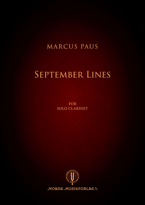 MARCUS PAUS: September Lines
