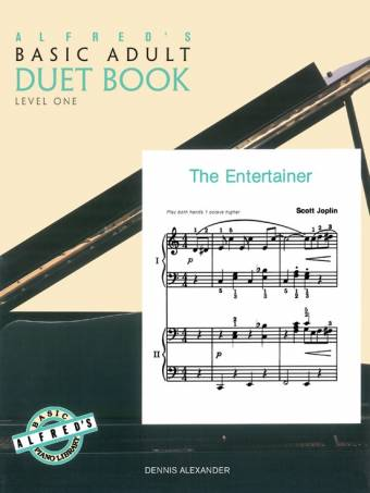 Alfred's Basic Adult Piano Library-Duet Book Level 1