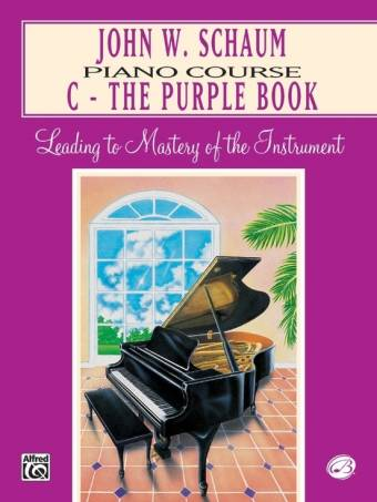 Schaum: Piano Course C - The Purple Book
